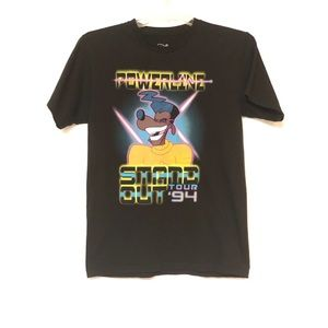 Disney Powerline Stand Out Tour '94 Black Tee T